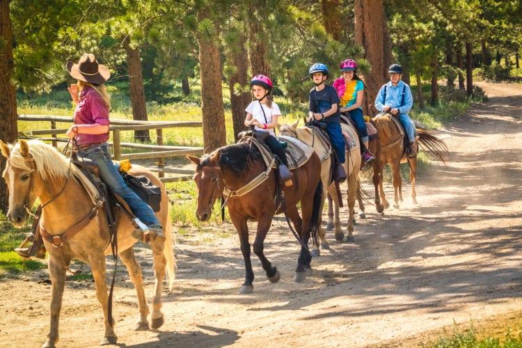 public trail rides